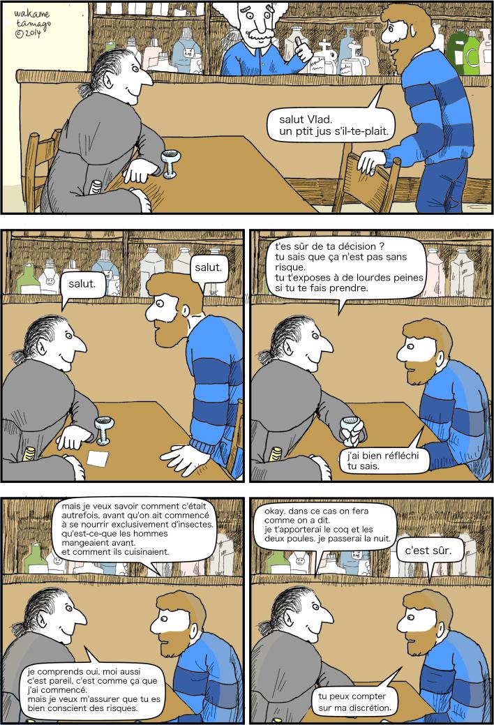 Conversation secrète entre Matthieu et Igor.